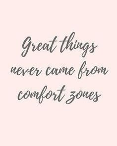 Step out of you comfort zone for growth. . . .  #Growth #ComfortZone #QOTD