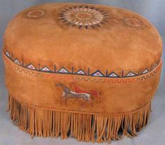 94 Best Western Ottomans Images Leather Texture Western