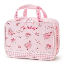 Sanrio Original Japan My Melody Women Makeup Pouch Cosmetic Pocket Pouch Pink  #SanrioJapan
