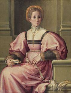 1530-1535_Pier Francesco Foschi_Retrato de una dama