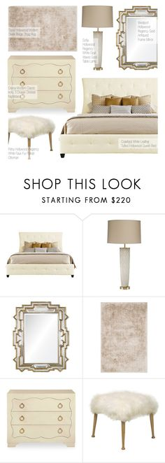 """""""Modern Classic Bedroom"""" by kathykuohome ❤ liked on Polyvore featuring interior, interiors, interior design, home, home decor, interior decorating, bedroom, modern, homedecor and hollywoodregency"""