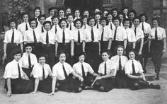 Rare photo emerges of female codebreakers who worked in secret using world's…
