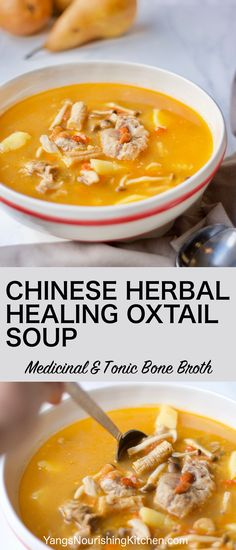 Benefits of bone broth, traditional Chinese tonic herbs (goji berry & codonopsis roots), gelatin, hearty & satisfying beef and vegetables. A healing and nourishing winter meal in one pot; and an easy soup to make!
