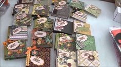 Mini notebook project completed #scrapbooking, #notebooks, #crafts