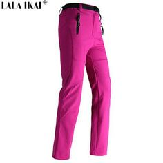 Brand: IKAI  Gender: Women Material: Polyester Size: 26,27,28,29,30 Style: Hiking pants Suitable Season : Spring ,Autumn,Winter Outdoor Item: Outdoor Sports ,Ca