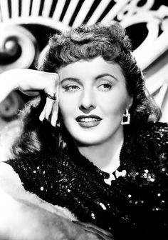 Barbara Stanwyck, great actress always stylish.