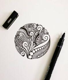 #mandala #mandalaart #mandalas #art #mandalalove #mandala_sharing #mandaladesign #mandalapassion #mandalala #zentangle #mandalaartist… Doodle Art Drawing, Cool Art Drawings, Zentangle Drawings, Mandala Drawing, Pencil Art Drawings, Art Drawings Sketches, Zentangles, Doodle Art Designs, Scratchboard Art