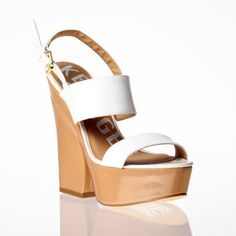 Holly Wedge Sandal White