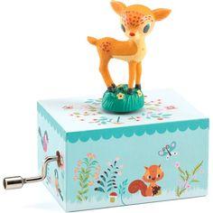 Djeco - muziekdoosje - Bambi #toys #musicbox #djeco #littlethingz