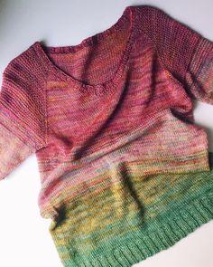 So Faded Sweater by Drea Renee Knits