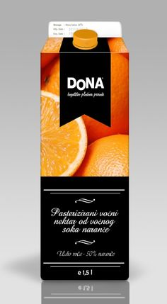 DONA Juice (Redesigned) on Packaging of the World - Creative Package Design Gallery