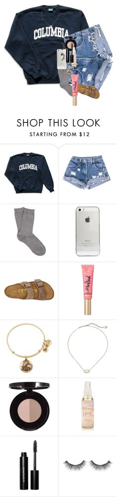 """""""I made varsity field hockey today!!!! sooooo excited!!!!!"""" by kendallmichele ❤ liked on Polyvore featuring Columbia, Falke, Agent 18, Birkenstock, Alex and Ani, Kendra Scott, Anastasia Beverly Hills, Bobbi Brown Cosmetics and Sephora Collection"""