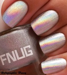 Holographic Hussy: FNUG Psychedelic and Silver Holographic Comparison