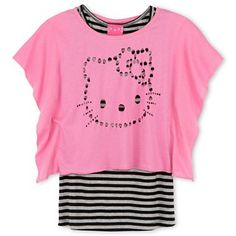 Hello Kitty® Layered Top - Girls 4-16 - jcpenney