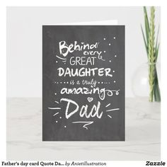 Free Fathers Day Cards, Fathers Day Gifts, Fathers Day Cards Handmade, Husband Gifts, Quote Girl, Father's Day Celebration, Happy Father Day Quotes, Handmade Birthday Cards, Greeting Cards Handmade