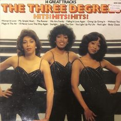 by The Three Degrees from Pickwick (SHM Lps For Sale, Body Check, We Are Family, 80s Fashion, Third, My Love, Albums, Collection, Women