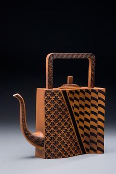 Judy Weeden.  Swinging Teapot.