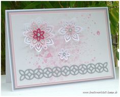 Kreativwerkstatt Karin Müller, Stampin' Up!, Blütenpoesie #Flourish Thinlits Dies