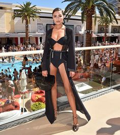 Actress/model Olivia Culpo attends Sports Illustrated Swimsuit new issue launch and model search winners celebration at Encore Beach Club in Wynnn Las Vegas on March 2018 in Las Vegas, Nevada. Get premium, high resolution news photos at Getty Images Ibiza Outfits, Club Outfits, Beach Party Outfits, Bar Outfits, Club Dresses, Las Vegas Outfit, Las Vegas Fashion, Vegas Outfits, Vacation Outfits