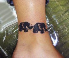 Elephant Foot Tattoos for Women | Nice Elephants Tattoo for Girls Ankle 520x437 35 Elephant Tattoo ...