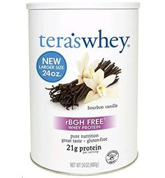 tera's: Simply Pure/rBGH-Free Whey Protein Isolate, Plain, 24 oz * Click on the image for additional details.
