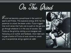 Fizzle Website The Grind Page