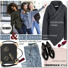 How To Wear London Style Outfit Idea 2017 - Fashion Trends Ready To Wear For Plus Size, Curvy Women Over 20, 30, 40, 50