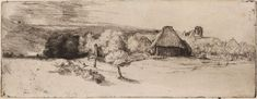 Art History News: Rembrandt. Landscape Etchings from the Städel Museum
