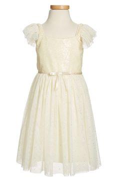 PopatuSequin Bodice Tulle Dress (Toddler Girls, Little Girls & Big Girls) available at #Nordstrom