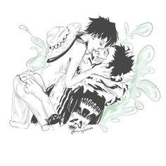 One Piece Funny, One Piece Comic, One Piece Ship, One Piece Fanart, One Piece Anime, Monkey D Luffy, I Love Anime, Hetalia, Ships
