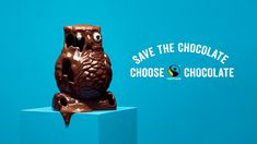 Fairtrade Finland: Chocogeddon: Save the chocolate - by hasan & partners Ethical Issues, Creative Visualization, Sign Off, Snowy Owl, African Elephant, Melting Chocolate, Fair Trade, Vulnerability, Climate Change