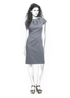 4354 personalisierte Kleid Muster - PDF-Schnittmuster