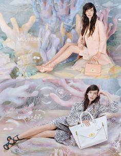 Spring-Summer 2013 Womens Mulberry Ad Campaign