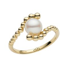 Effervescence White Mini Pearl Ring, Links of London Jewellery