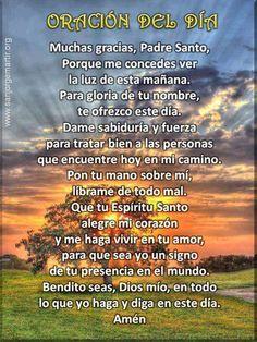 oración del día