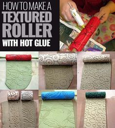 Fun Crafts Was tun mit einer Heißklebepistole? Beste Heißkleber T … Fun Crafts What to do with a hot glue gun? Best Hot Melt Adhesive T … Glue Gun Projects, Glue Gun Crafts, Craft Projects, Fun Crafts To Do, Arts And Crafts, Diy Crafts, Hot Glue Art, Diy Glue, Impression Textile