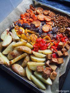 Salad Recipes, Snack Recipes, Cooking Recipes, Snacks, Vegetarian Recipes, Healthy Recipes, Diy Food, Food Food, Vegan Meal Prep