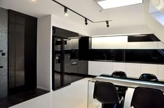 Minimalist Kitchen Design Black And White