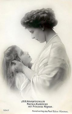 Marie und Mignon, Marie Queen of Romania