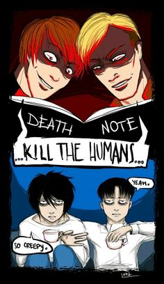 Funny anime memes attack on titan death note 27 super Ideas Anime Meme, Death Note Funny, L Death Note, Levi X Eren, Levi Ackerman, Memes Humor, Funny Memes, L X Light, Attack On Titan Meme