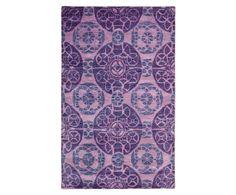 Handgetuft tapijt, paars, 153 x 244 cm | Westwing Home & Living