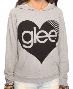 glee sweatshirt i want it