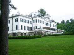 The Mount- Edith Wharton Home- Lenox MA