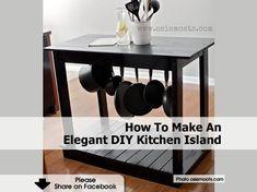 div kitchen island | DIY Kitchen Island | House to Home