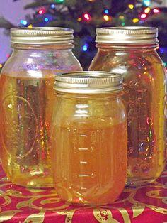 home made brandy