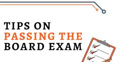 Tips on Passing the Board Exam Exams Tips, Board Exam, I Know The Plans, Eating Well, Mathematics, Booklet, Philippines, Improve Yourself, High School