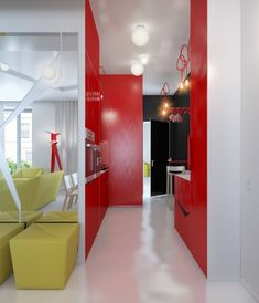 Colorful small apartment