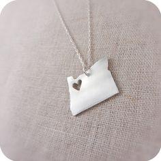 Oregon!!    #jewelry, necklace, portland, oregon, portlandia