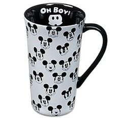 Sip with a smile using Disney drinkware like cups, mugs, travel mugs, and water bottles. Mickey and Minnie Mouse, Disney Princess and more add character style. Disney Mickey Mouse, Mickey Mouse Mug, Mickey Mouse Kitchen, Mickey Love, Classic Mickey Mouse, Disney Kitchen, Cozinha Do Mickey Mouse, Disney Coffee Mugs, Disney Cups