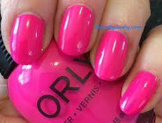 orly hot pink nail polish - Google Search